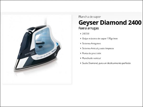 PLANCHATAURUS GEYSER-DIAMOND-2400W-VER-IV