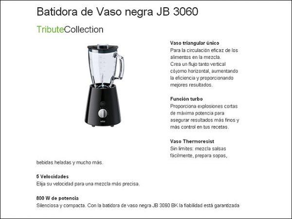 BATIDORA-VASO-BRAUN-JB3060BK-175L.-800W-NEGRA
