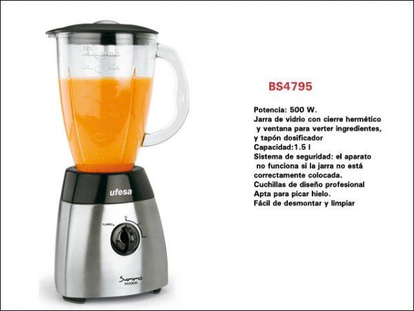 UFESA BS4795-INOX-500W-15L