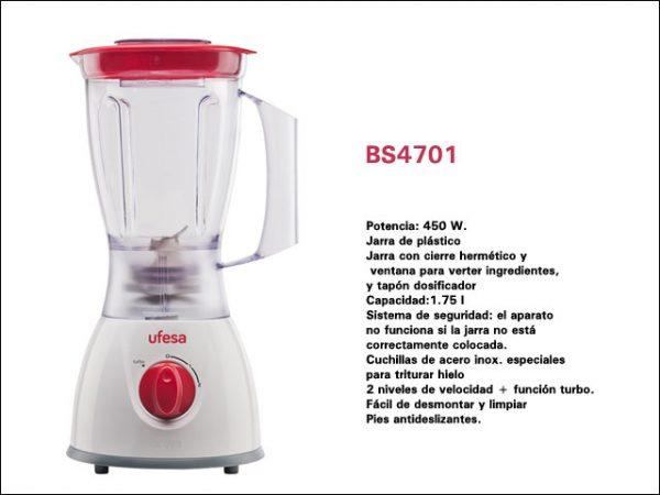UFESA BATIDORA BS4701 – 450W