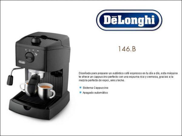 CAFETERA ESPRESSO DELONGHI EC146 CAPUCCINO EXPRESS