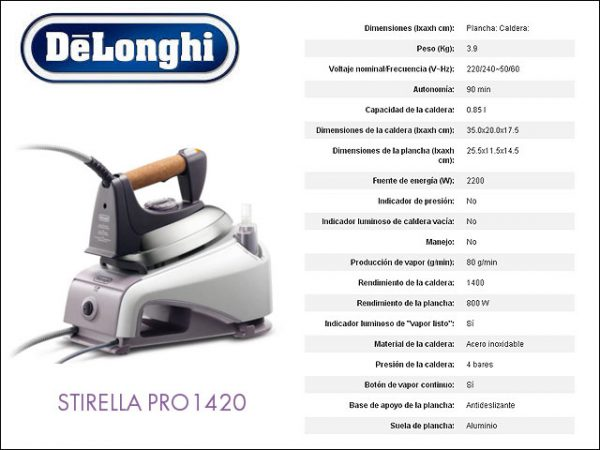 CENTRO-PLANCHADO-DELONGHI-PRO1420-4-BARES