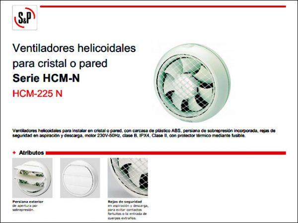 EXTRACTOR-SP-HCM225N-VENTANA