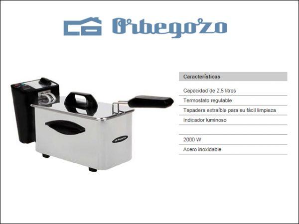 FREIDORA-ORBEGOZO-FDR25-INOX-25L-