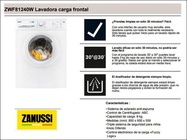 LAVADORA-ZANUSSI-ZWF81240W-A-8KG.-1.200-R.P.M