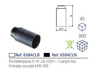 PORTALAMPARA-E-14-2A-250V-CUERPO-LISO