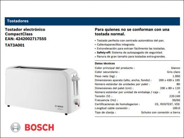TOSTADOR-BOSCH-TAT3A001-BLANCO-BOCA-ANCHA-980W.
