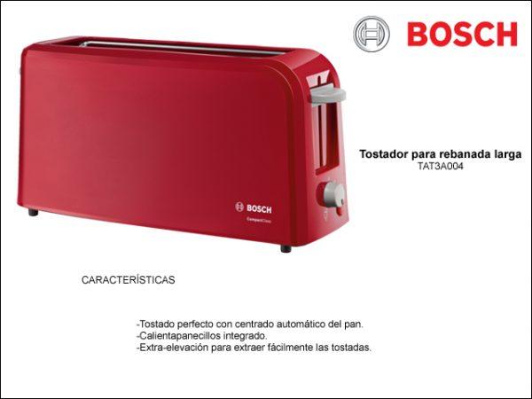 TOSTADOR-BOSCH-TAT3A004-ROJO-BOCA-ANCHA-980W