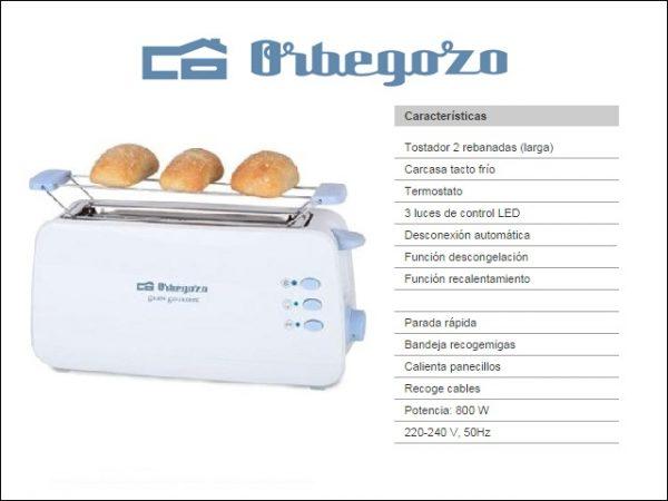 TOSTADOR-ORBEGOZO-TO4012-BOCA-ANCHA-800W