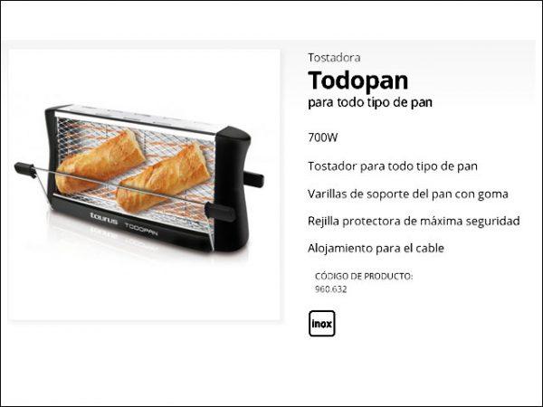 TOSTADOR-TAURUS-TODOPAN-700W-VER-II