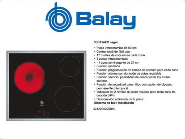 VITROCERAMICA-BALAY-3EB714XR-MARCO-INOX